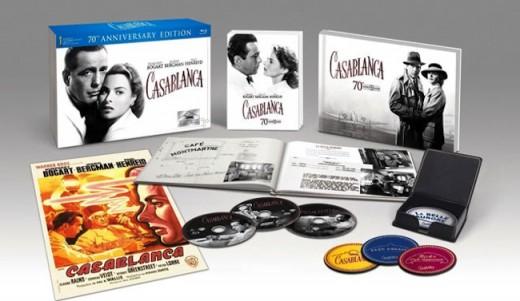 Casablanca, edición especial en Blu-Ray.