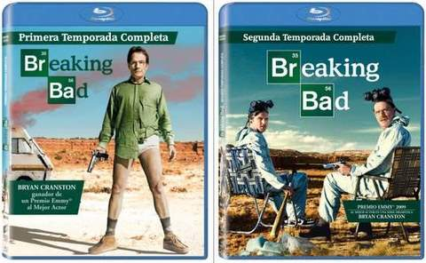 Breaking Bad en Blu-Ray.