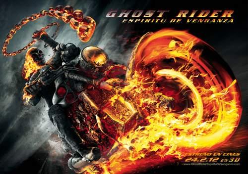 Cartel Ghost Rider: Espíritu de Venganza.