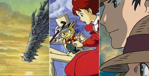 Studios Ghibli, estrenos en Blu-Ray.