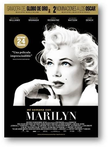 Póster de Mi Semana con Marilyn.