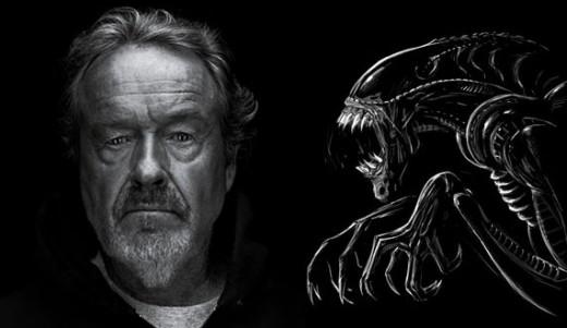 Ridley Scott habla de Prometheus.