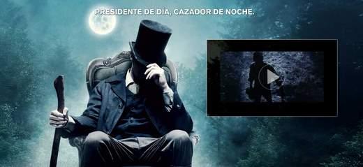 Abraham Lincoln cazador de vampiros.