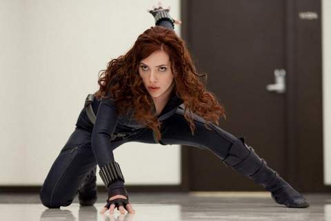 Scarlett Johansson Viuda negra.