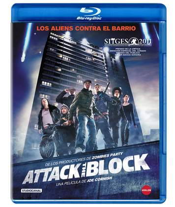 Attack the block en Blu-Ray.
