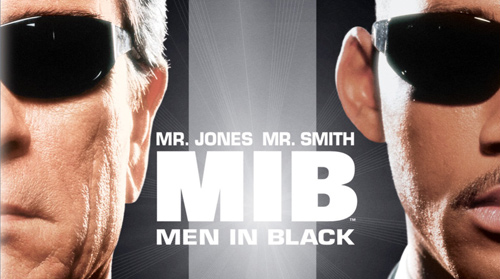 Men in Black en Blu-Ray.