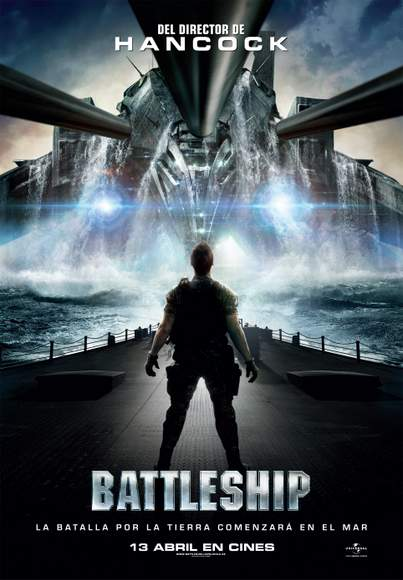 Póster de Battleship.