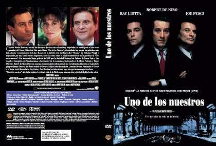 DVD Uno de los nuestros.