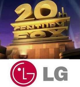20 Century Fox y LG.