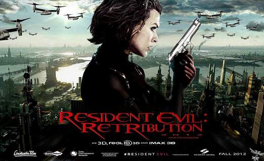 Cartel de Resident Evil 5.