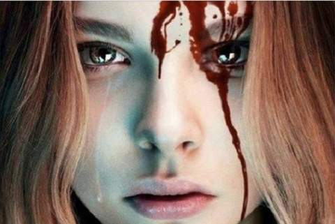 Video del rodaje de Carrie.