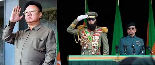 Las locuras de el dictador.