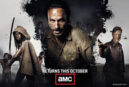 The walking dead, tercera temporada.