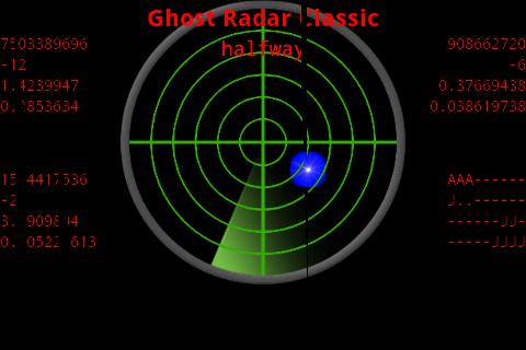 Ghost radar.