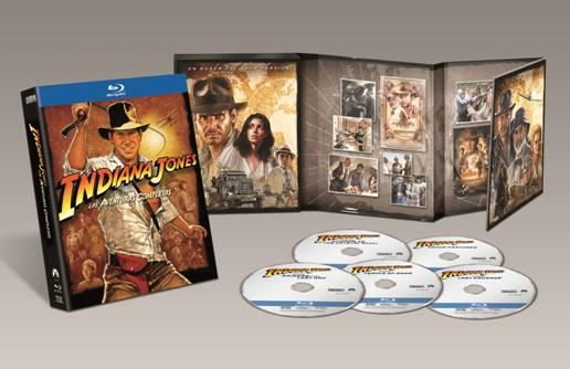 Pack Las aventuras completas de Indiana Jones.