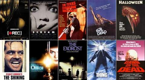 Especial cine de terror en Halloween.