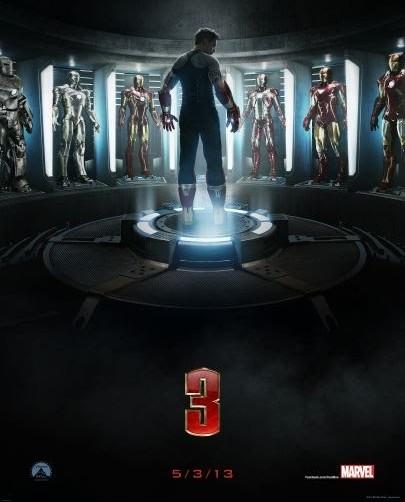 Póster de Iron Man 3.