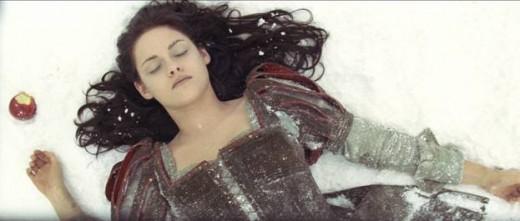 Kristen Stewart en Blancanieves.