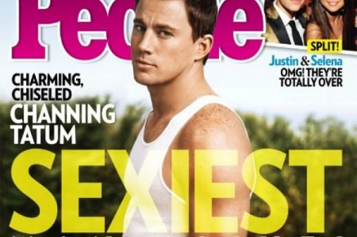Channing Tatum en la revista People.