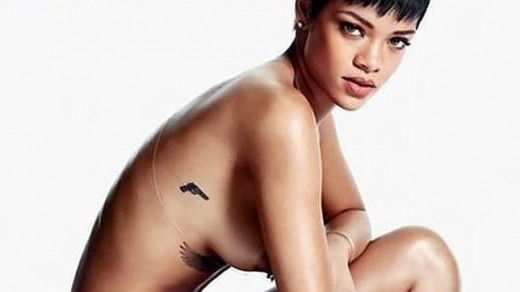 Rihanna muy sexy.