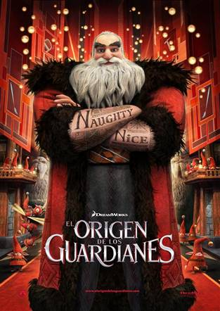 El Origen de los guardianes. Norte.