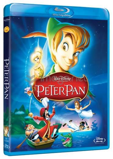Peter Pan en Blu-ray.