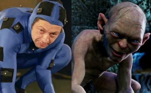 Andy Serkis es Gollum.