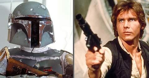 Han Solo y Boba Fett