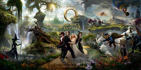 Oz, un mundo de fantasía, banner