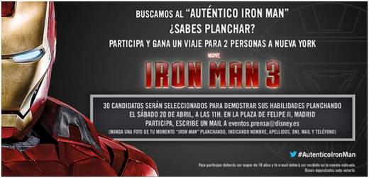 "Auténtico ""Iron Man""."