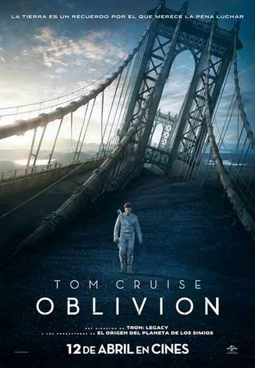 """Póster de """"Oblivion""""."""