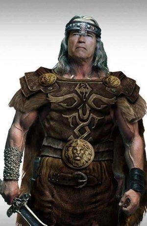Arnold Schwarzenegger será Conan.
