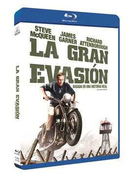"""Blu-ray """"La Gran Evasión""""."""