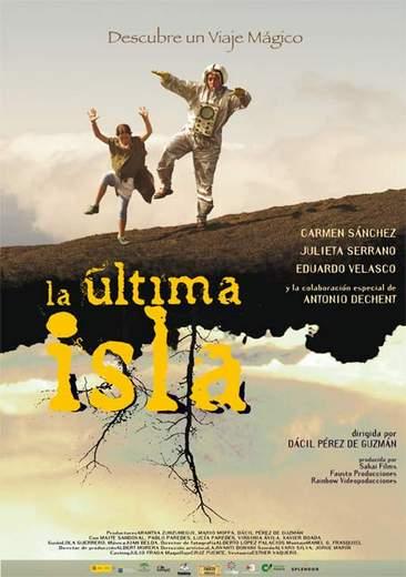"Póster de ""La Última Isla""."