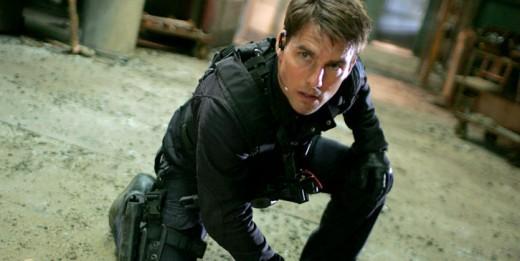 "Tom Cruise en ""Misión: Imposible 5""."