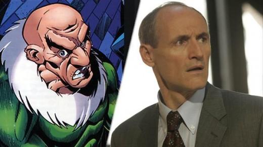 """Colm Feore El Buitre en """"The Amazing Spiderman 2""""."""