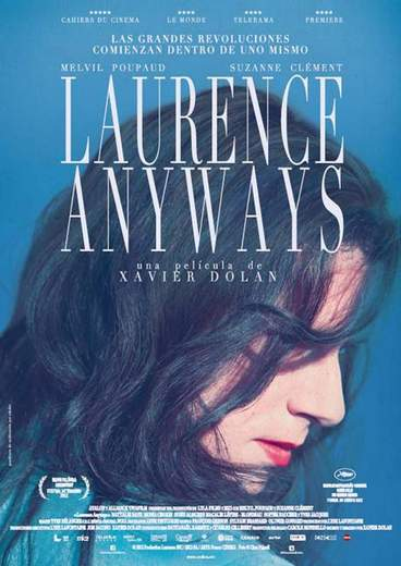 "Póster de ""Laurence Anyways""."