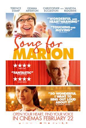 """Póster de """"Una Canción para Marion""""."""
