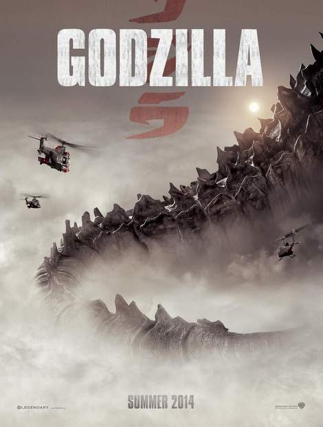 "Póster de ""Godzilla""."