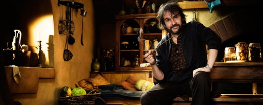 "Peter Jackson director de ""El Hobbit""."