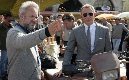 Sam Mendes y Daniel Craig.