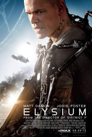 "Póster de ""Elysium""."