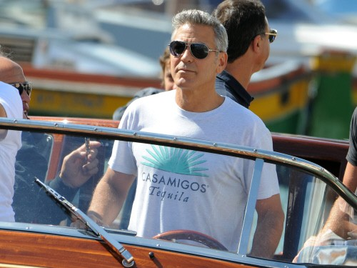 George Clooney en Venecia.