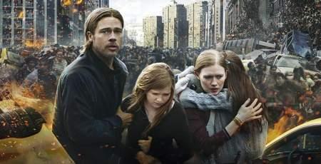 """""""Guerra Mundial Z"""", estreno de cine."""
