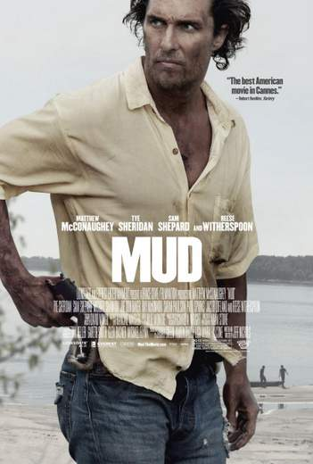 """Póster de """"Mud""""."""