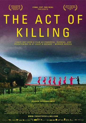 "Póster de ""The Act of Killing""."