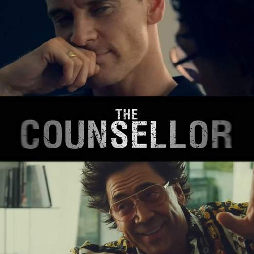 "Póster de ""The Counselor""."
