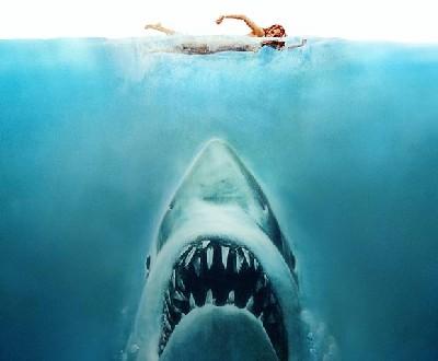 "Póster de ""Tiburón""."