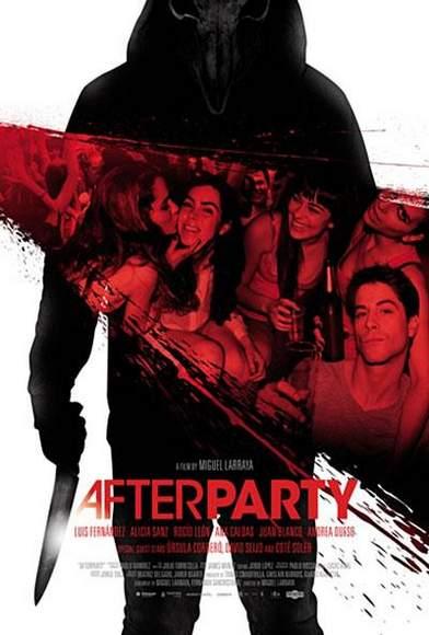 """Póster de """"Afterparty""""."""