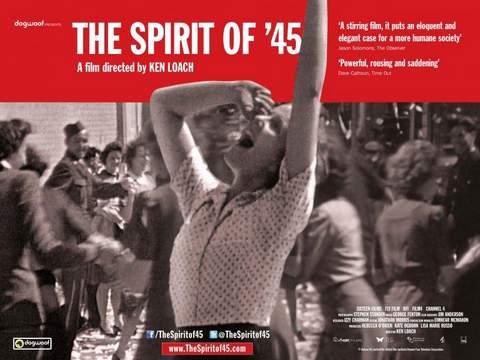 "Cartel de ""El Espíritu del 45""."